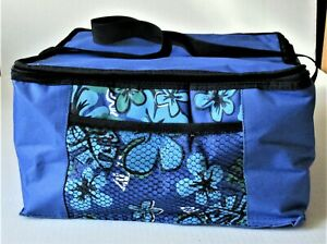 Blue Floral NEW Cooler Bag Set of 3