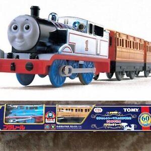 Thomas & Friends Metallic Plating 60th Anniversary Tomy Plarail Discontinued Box