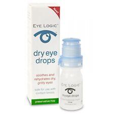 *NEW* Eye Logic Dry Eye Drops 10ml preservative-free *FREE POST*
