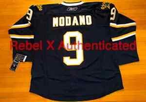 REEBOK VINTAGE 2007-08 MIKE MODANO DALLAS STARS HOCKEY JERSEY SZ 54 FIGHT STRAP