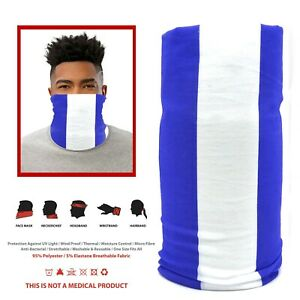 Inspired By Everton Blue & White Snood Face Mask Neck Head Scarf
