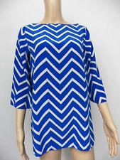 Silk Casual Geometric Tops & Shirts for Women