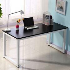 120cm Computertisch Schreibtisch Bürotisch Arbeitstisch Modern PC Tisch Schwarz