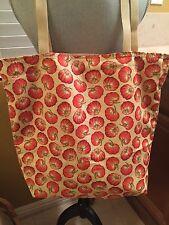 New HANDMADE Large *Halloween* FALL PUMPKINS Bag/Tote/Purse/Handbag/Sack