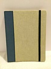 DODO Case for Kindle for J.CREW Navy Blue / Tweed Gray Hard Cover w/ Strap  USA