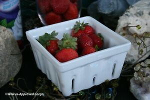 CRATE AND BARREL BERRY BOX COLANDER – NWT – A BERRY NICE PICK FOR THE KITCHEN!