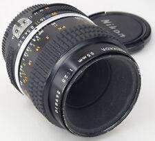 NIKON Ais 55 mm 2.8 Micro-Nikkor