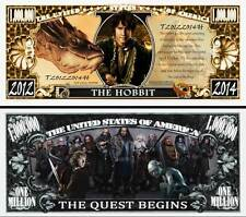 The Hobbit Million Dollar Bill Collectible Fake Play Funny Money Novelty Note