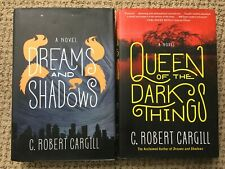 DREAMS AND SHADOWS ~ QUEEN OF DARKNESS ~ CARGILL ~ HC DJ 1ST EDITIONS