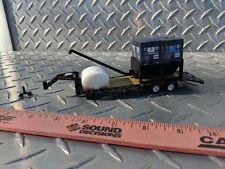 1/64 ERTL farm toy 5th wheel gooseneck trailer greenlight black seed tender box