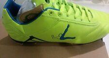 SCARPE Calcio LEGEA  n. 42 verde fluo. Modello karl calcio adulto tacchetti