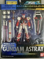 Bandai Gundam Mobile Suit Action Figure Astray Red Frame MSIA Seed Version
