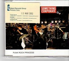 (FP186) Something Corporate, Punk Rock Princess - 2003 DJ CD