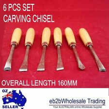 6 pcs Carving Chisel Professional Woodworking Detail Wood Hand Chisel Tool Set