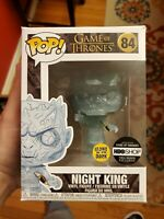 Funko Pop #84- Glow In The Dark Night King with Sword GOT HBO EXCLUSIVE