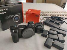 Sony Alpha A6500 24.2MP Digital Camera - Black (Kit with 16-50mm Power Zoom Lens