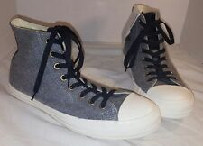 NEW MEN'S CONVERSE CHUCK TAYLOR ALL STARS GREY MENSWEAR HIGH SNEAKERS SIZE US 9