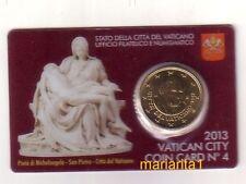 Vaticano 50 cent 2013  coincard 4