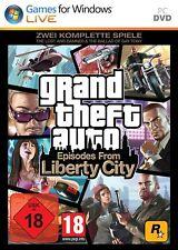 PC juego de ordenador * Grand Theft Auto episodes from Liberty City * GTA *** nuevo * New