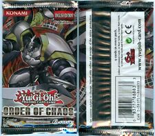 ORDER OF CHAOS Yu-Gi-Oh! 1ST EDITION BOOSTER PACK X3  FACTORY SEALED Yugioh