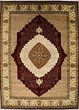 Rugstc 9x12 Senneh Pak Persian Red Area Rug, Hand-Knotted,Floral with Wool Pile