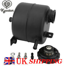 Black 02-06 Mini Cooper S 05-08 Convertible Coolant Expansion Alloy Tank can