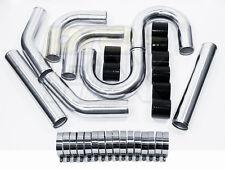 "Pre-Fix 3"" ALUMINUM Intercooler Piping Kit for Mustang, Accord, Mandrel Bent"