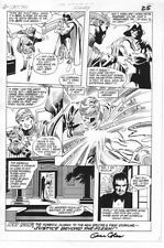 Spectre #2 p.25 - Detective Corrigan End Page - 1986 Signed art by Gene Colan