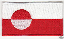 GREENLAND Flag Country Patch