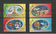 HONG KONG 2000 NEW MILLENNIUM 3RD ISSUE SG,1002-1005 U/M NH LOT 1595A