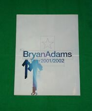 BRYAN ADAMS Vintage World TOUR PROGRAMME 2001
