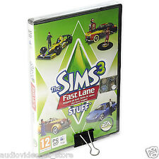 THE SIMS 3 FAST LANE STUFF PC MAC APPLE ITALIANO SIGILLATO pack espansione