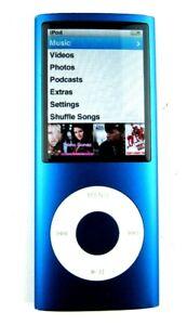 Apple iPod Nano A1285 8GB Blue Version 1.0.3 Perfect Condition