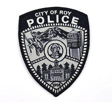 City of Roy Police Uniform Aufnäher USA Polizei Emblem Patch Bügelflicken
