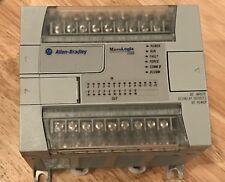 Allen Bradley MicroLogix 1200 PLC Controller 1762-L24BXB SER C FRN 10 w/Cable