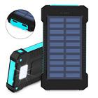 Power Bank 10000 mAh Waterproof USB Portable Solar Battery Pack Charger 10000mah