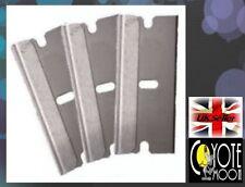 3x Fimo Canes Blades, Nail Art, Single Sided Razor. DIY, Hobby, Arts & Crafts UK