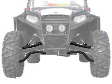 "SuperATV Polaris RZR S 800 / 4 800 High Clearance 1.5"" Forward A-Arms - BLACK"