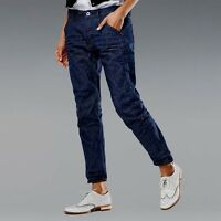 RRP $400 NEW G-STAR W-27 L-32 5620 KATE TAPERED 25 YEARS selvedge CROPPED JEANS