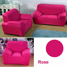Sofa Couch Slip Over Easy Fit Stretch Covers Elastic Fabric Settee Protector UK