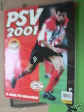 STAMP ALBUM,PSV 2001 NOT COMPLETE,PANINI,VOETBAL,SOCCER,FOOTBALL