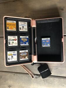 Nintendo DS Case And 7 Game Lot