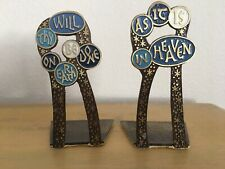 Terra Sancta Guild Book Ends Thy Will Be Done On Earth Lords Prayer