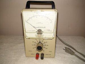 Heathkit IM-38 Voltmeter