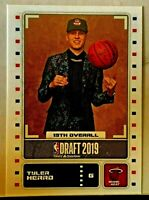 2019-20 Panini NBA Sticker & Card Collection TYLER HERRO #91 Rookie Card RC Heat
