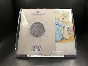 2021 Brilliant Uncirculated Peter Rabbit UK £5 Five Pounds