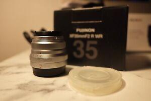 Fujifilm Fujinon XF 35mm F/2 R WR Lens For Universal (Silver)