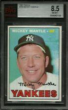 1967 TOPPS #150 MICKEY MANTLE BVG 8.5 NM-MT+ HOF MVP NEW YORK YANKEES BASEBALL