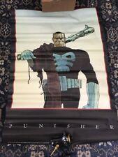 1991 Marvel Press The Punisher Frank Castle Moebius 34x22 New