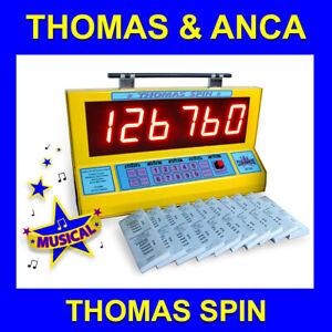Raffle Machine Thomas Spin Electronic Tote random number selector raffle tickets
